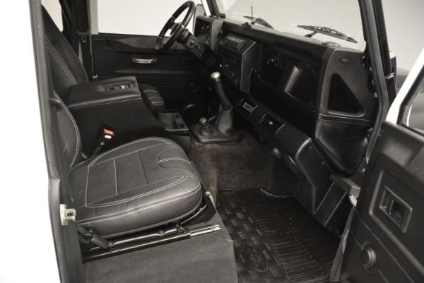 Used 1994 Land Rover Defender 130 Himalaya for sale Sold at Alfa Romeo of Westport in Westport CT 06880 19