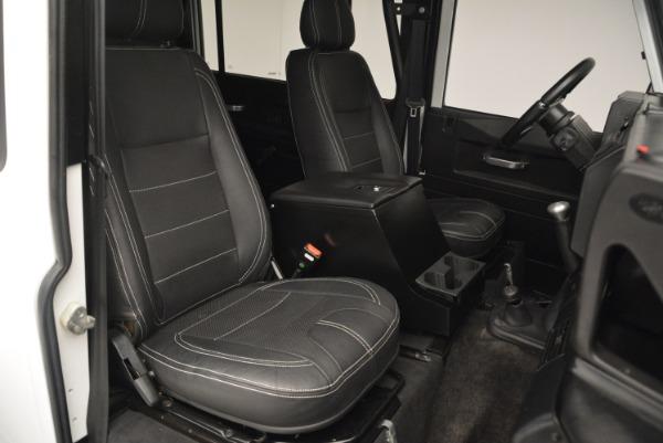 Used 1994 Land Rover Defender 130 Himalaya for sale Sold at Alfa Romeo of Westport in Westport CT 06880 21