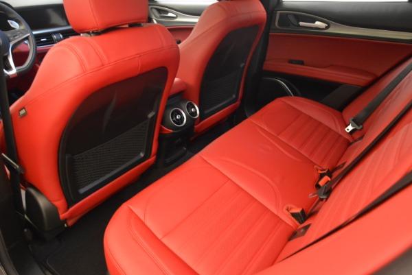 New 2018 Alfa Romeo Stelvio Ti Sport Q4 for sale Sold at Alfa Romeo of Westport in Westport CT 06880 16