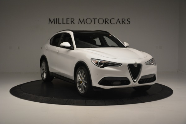 Used 2018 Alfa Romeo Stelvio Ti Sport Q4 for sale $36,900 at Alfa Romeo of Westport in Westport CT 06880 12