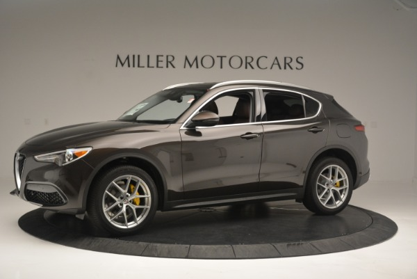 New 2018 Alfa Romeo Stelvio Ti Q4 for sale Sold at Alfa Romeo of Westport in Westport CT 06880 2