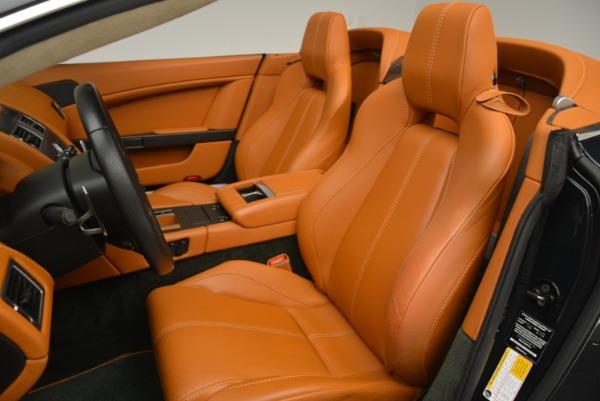 Used 2008 Aston Martin V8 Vantage Roadster for sale Sold at Alfa Romeo of Westport in Westport CT 06880 18