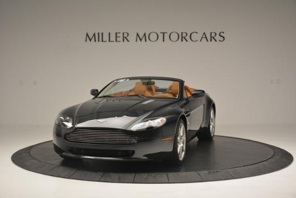 Used 2008 Aston Martin V8 Vantage Roadster for sale Sold at Alfa Romeo of Westport in Westport CT 06880 1