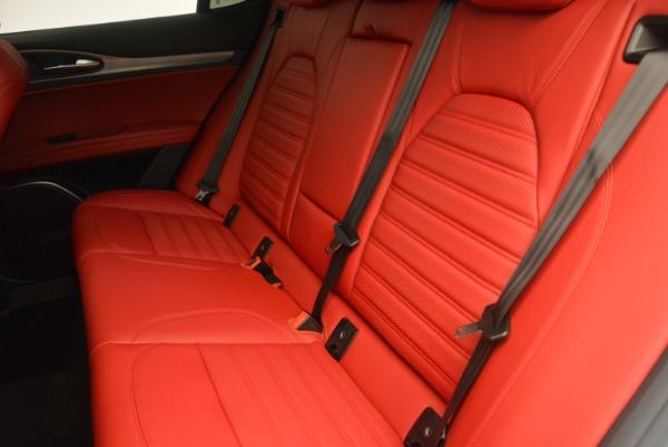 Used 2018 Alfa Romeo Stelvio Ti Sport Q4 for sale $36,900 at Alfa Romeo of Westport in Westport CT 06880 17