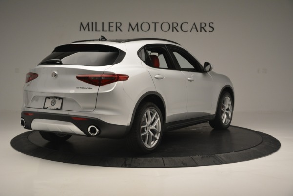 New 2018 Alfa Romeo Stelvio Ti Sport Q4 for sale Sold at Alfa Romeo of Westport in Westport CT 06880 8