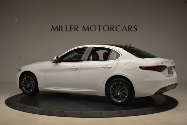 New 2018 Alfa Romeo Giulia Q4 for sale Sold at Alfa Romeo of Westport in Westport CT 06880 4