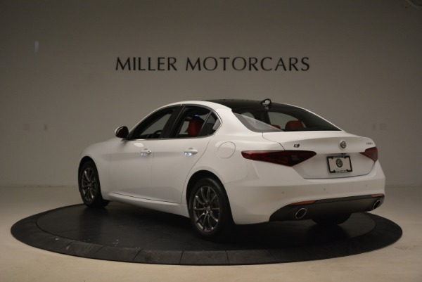 New 2018 Alfa Romeo Giulia Q4 for sale Sold at Alfa Romeo of Westport in Westport CT 06880 5