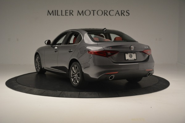 New 2018 Alfa Romeo Giulia Q4 for sale Sold at Alfa Romeo of Westport in Westport CT 06880 7