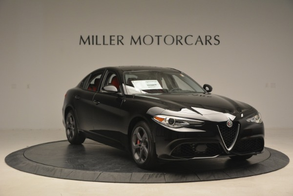 New 2018 Alfa Romeo Giulia Sport Q4 for sale Sold at Alfa Romeo of Westport in Westport CT 06880 11