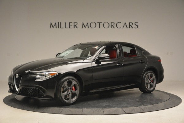 New 2018 Alfa Romeo Giulia Sport Q4 for sale Sold at Alfa Romeo of Westport in Westport CT 06880 2