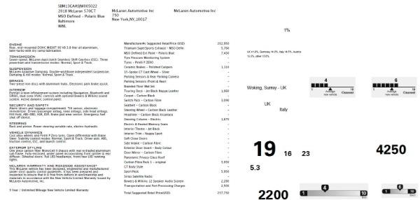 New 2018 McLaren 570GT for sale Sold at Alfa Romeo of Westport in Westport CT 06880 7