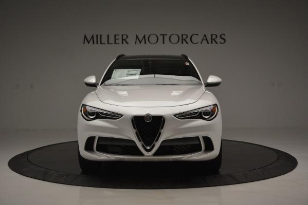 New 2018 Alfa Romeo Stelvio Quadrifoglio Quadrifoglio for sale Sold at Alfa Romeo of Westport in Westport CT 06880 16