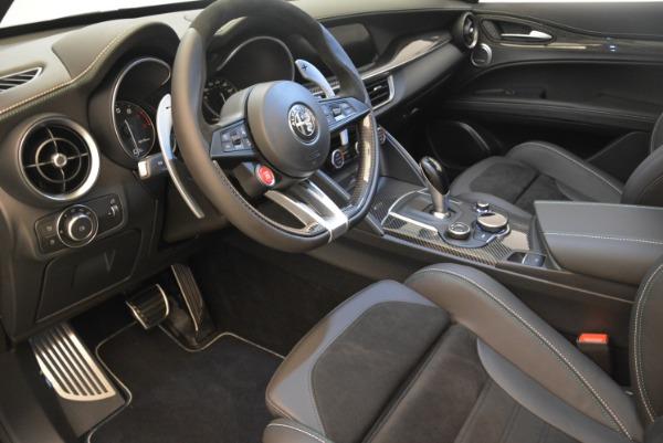New 2018 Alfa Romeo Stelvio Quadrifoglio for sale Sold at Alfa Romeo of Westport in Westport CT 06880 13
