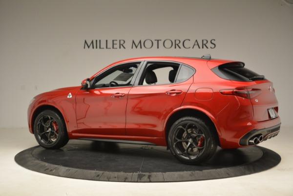 New 2018 Alfa Romeo Stelvio Quadrifoglio for sale Sold at Alfa Romeo of Westport in Westport CT 06880 4