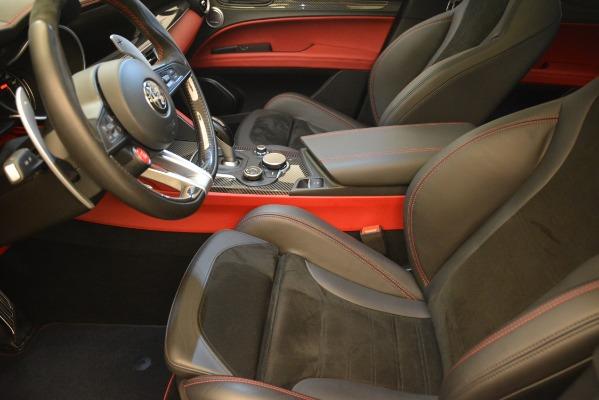 New 2018 Alfa Romeo Stelvio Quadrifoglio for sale Sold at Alfa Romeo of Westport in Westport CT 06880 14