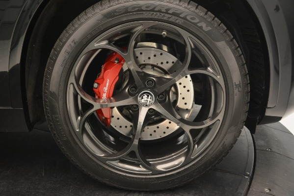 New 2018 Alfa Romeo Stelvio Quadrifoglio for sale Sold at Alfa Romeo of Westport in Westport CT 06880 25