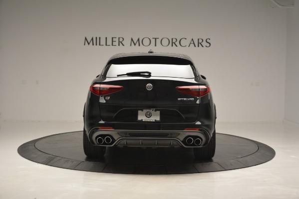 New 2018 Alfa Romeo Stelvio Quadrifoglio for sale Sold at Alfa Romeo of Westport in Westport CT 06880 6