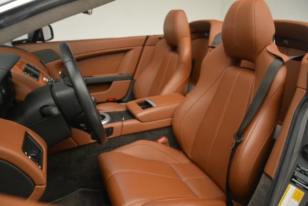 Used 2015 Aston Martin V8 Vantage Roadster for sale Sold at Alfa Romeo of Westport in Westport CT 06880 21