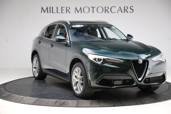Used 2018 Alfa Romeo Stelvio Ti Q4 for sale $32,900 at Alfa Romeo of Westport in Westport CT 06880 11