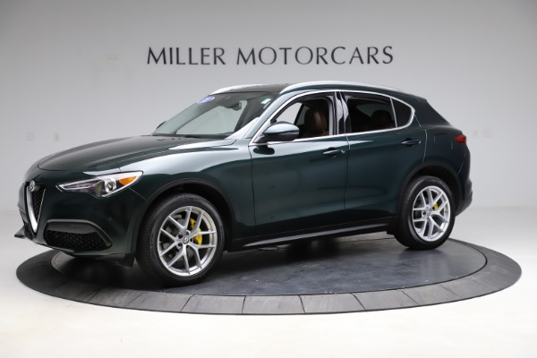 Used 2018 Alfa Romeo Stelvio Ti Q4 for sale $32,900 at Alfa Romeo of Westport in Westport CT 06880 2
