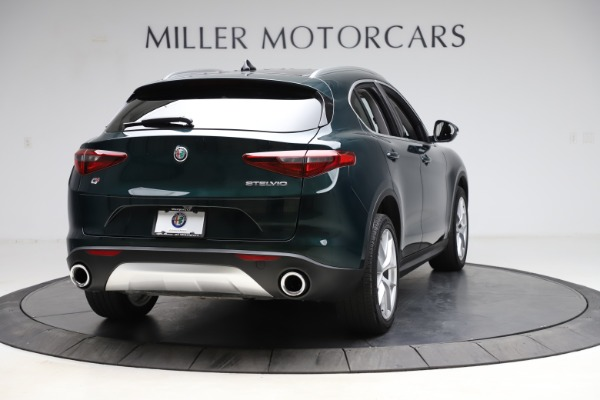 Used 2018 Alfa Romeo Stelvio Ti Q4 for sale $32,900 at Alfa Romeo of Westport in Westport CT 06880 7