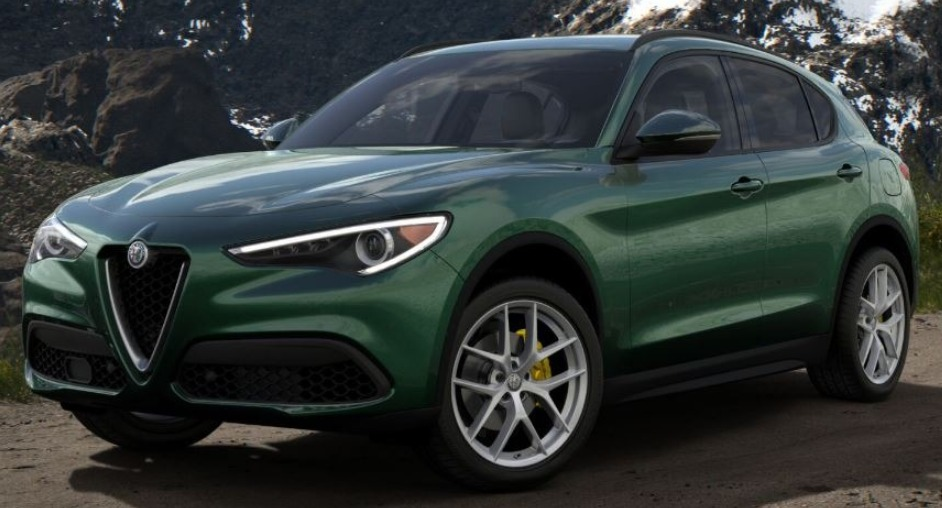 New 2018 Alfa Romeo Stelvio Ti Lusso Q4 for sale Sold at Alfa Romeo of Westport in Westport CT 06880 1