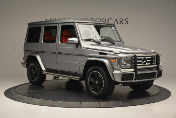 Used 2016 Mercedes-Benz G-Class G 550 for sale Sold at Alfa Romeo of Westport in Westport CT 06880 10