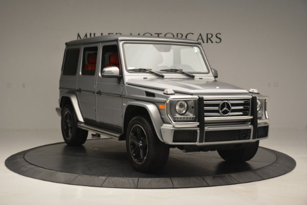 Used 2016 Mercedes-Benz G-Class G 550 for sale Sold at Alfa Romeo of Westport in Westport CT 06880 11