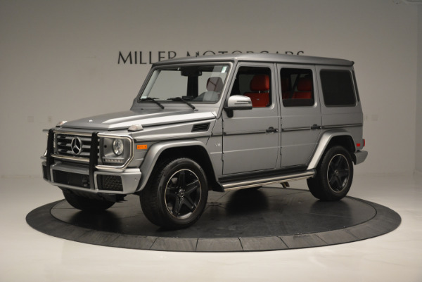 Used 2016 Mercedes-Benz G-Class G 550 for sale Sold at Alfa Romeo of Westport in Westport CT 06880 2