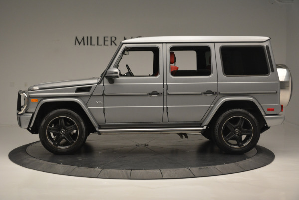 Used 2016 Mercedes-Benz G-Class G 550 for sale Sold at Alfa Romeo of Westport in Westport CT 06880 3