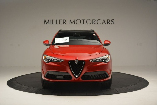 New 2018 Alfa Romeo Stelvio Ti Sport Q4 for sale Sold at Alfa Romeo of Westport in Westport CT 06880 12
