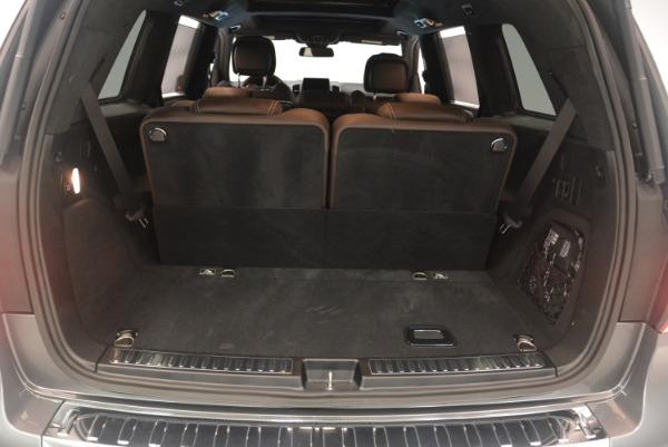 Used 2017 Mercedes-Benz GLS AMG GLS 63 for sale Sold at Alfa Romeo of Westport in Westport CT 06880 28