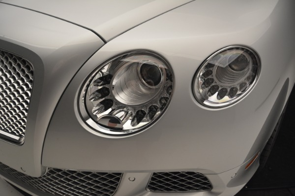 Used 2013 Bentley Continental GT W12 Le Mans Edition for sale Sold at Alfa Romeo of Westport in Westport CT 06880 18