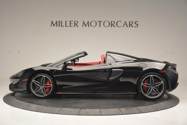 New 2019 McLaren 570S Convertible for sale Sold at Alfa Romeo of Westport in Westport CT 06880 3