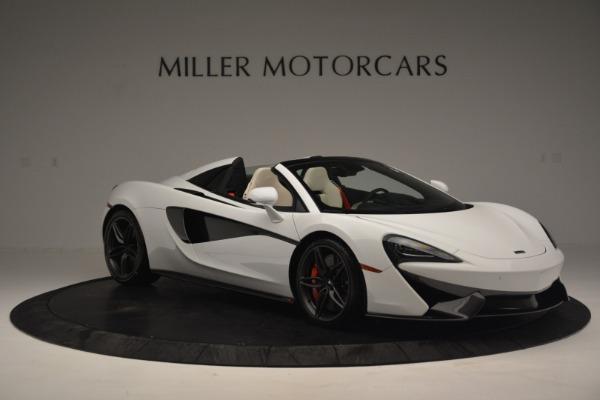 New 2019 McLaren 570S Spider Convertible for sale Sold at Alfa Romeo of Westport in Westport CT 06880 11