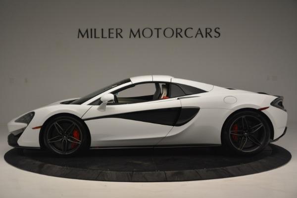 New 2019 McLaren 570S Spider Convertible for sale Sold at Alfa Romeo of Westport in Westport CT 06880 16