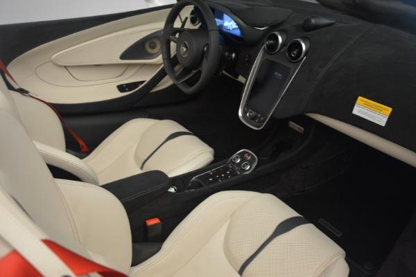 New 2019 McLaren 570S Spider Convertible for sale Sold at Alfa Romeo of Westport in Westport CT 06880 26