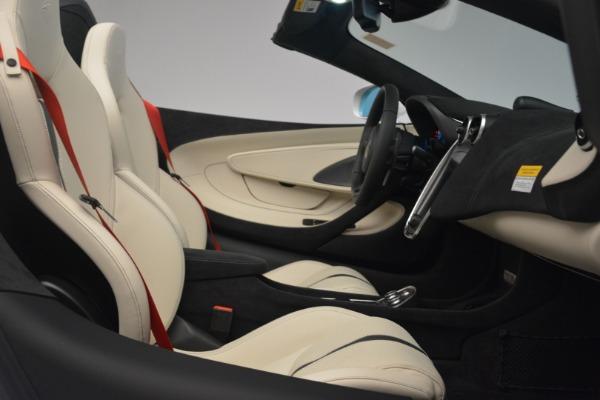 New 2019 McLaren 570S Spider Convertible for sale Sold at Alfa Romeo of Westport in Westport CT 06880 27
