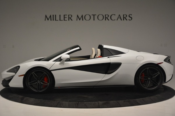 New 2019 McLaren 570S Spider Convertible for sale Sold at Alfa Romeo of Westport in Westport CT 06880 3