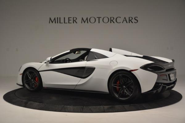 New 2019 McLaren 570S Spider Convertible for sale Sold at Alfa Romeo of Westport in Westport CT 06880 4