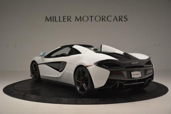 New 2019 McLaren 570S Spider Convertible for sale Sold at Alfa Romeo of Westport in Westport CT 06880 5