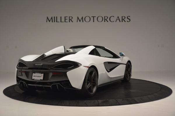 New 2019 McLaren 570S Spider Convertible for sale Sold at Alfa Romeo of Westport in Westport CT 06880 7