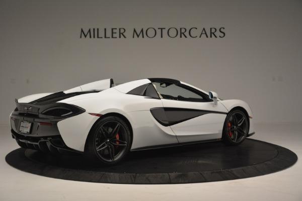 New 2019 McLaren 570S Spider Convertible for sale Sold at Alfa Romeo of Westport in Westport CT 06880 8