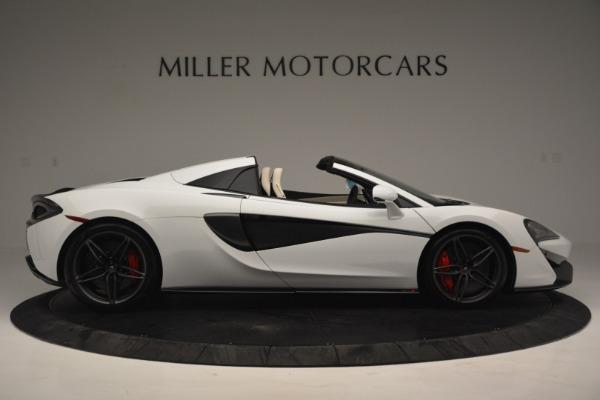 New 2019 McLaren 570S Spider Convertible for sale Sold at Alfa Romeo of Westport in Westport CT 06880 9
