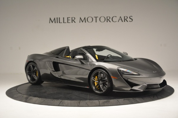 Used 2019 McLaren 570S Spider Convertible for sale Sold at Alfa Romeo of Westport in Westport CT 06880 10