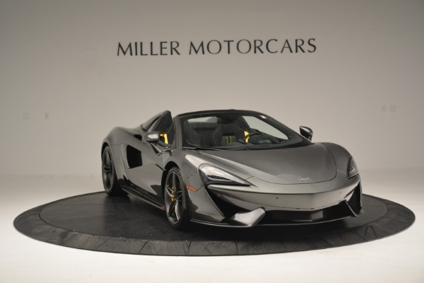 Used 2019 McLaren 570S Spider Convertible for sale Sold at Alfa Romeo of Westport in Westport CT 06880 11