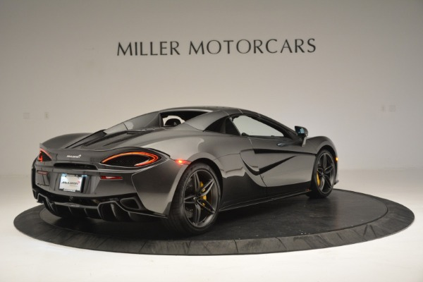 Used 2019 McLaren 570S Spider Convertible for sale Sold at Alfa Romeo of Westport in Westport CT 06880 19