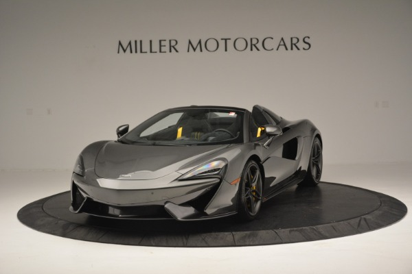 Used 2019 McLaren 570S Spider Convertible for sale Sold at Alfa Romeo of Westport in Westport CT 06880 2