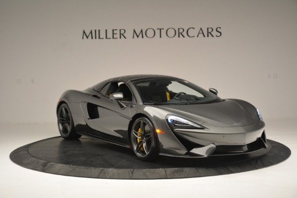 Used 2019 McLaren 570S Spider Convertible for sale Sold at Alfa Romeo of Westport in Westport CT 06880 21