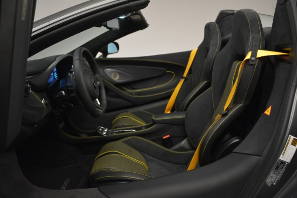 Used 2019 McLaren 570S Spider Convertible for sale Sold at Alfa Romeo of Westport in Westport CT 06880 24